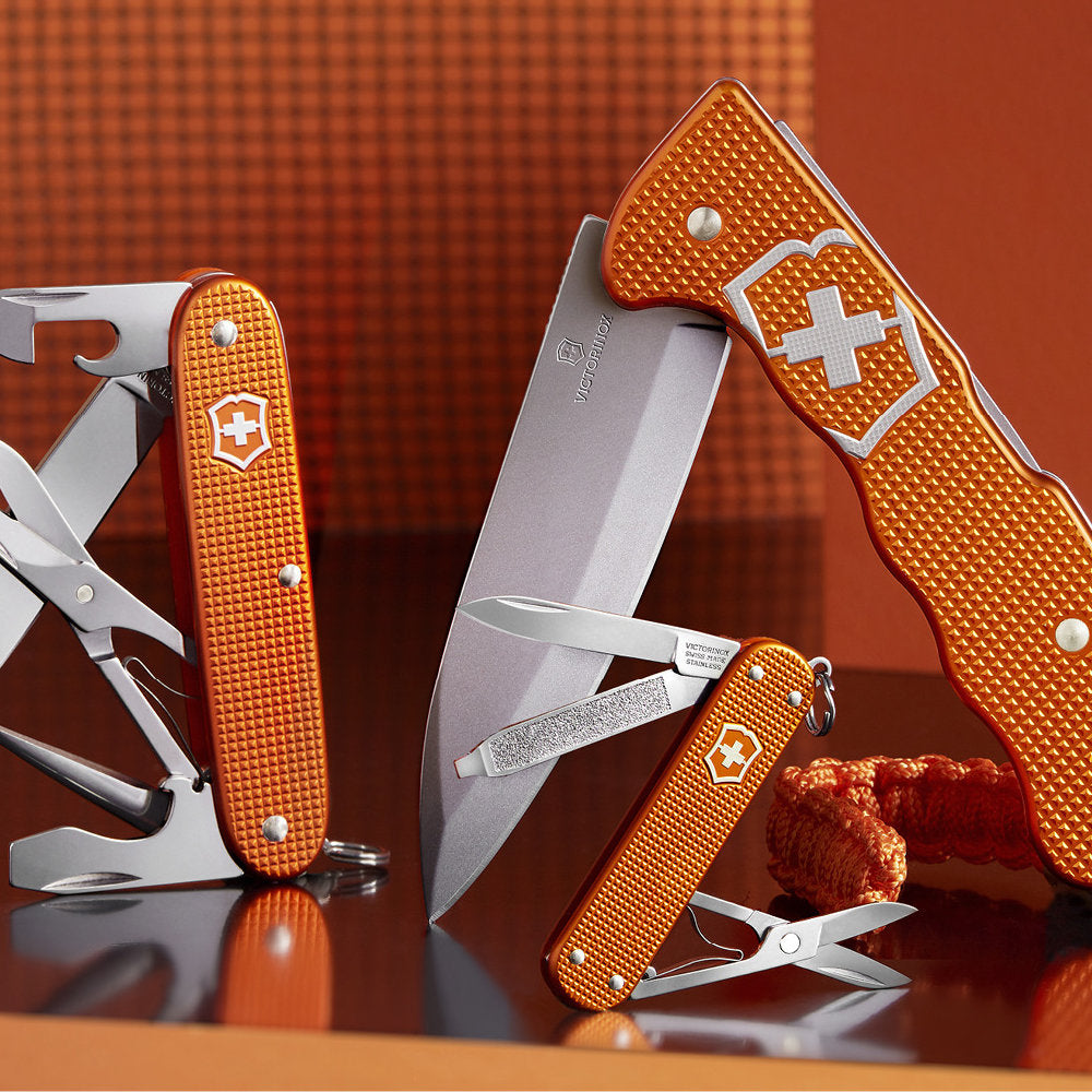 Introducing the Tiger Orange Alox 2021 Limited Edition Swiss Army Knife Collection!