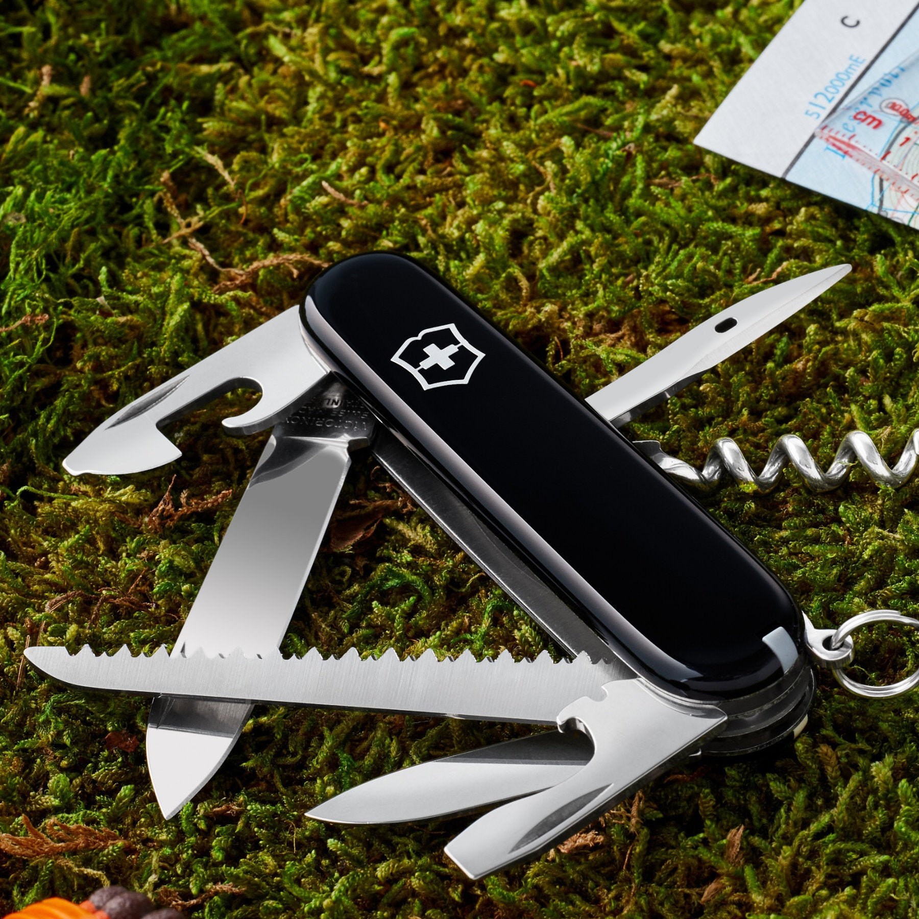 Camping and Hiking Swiss Army Knives