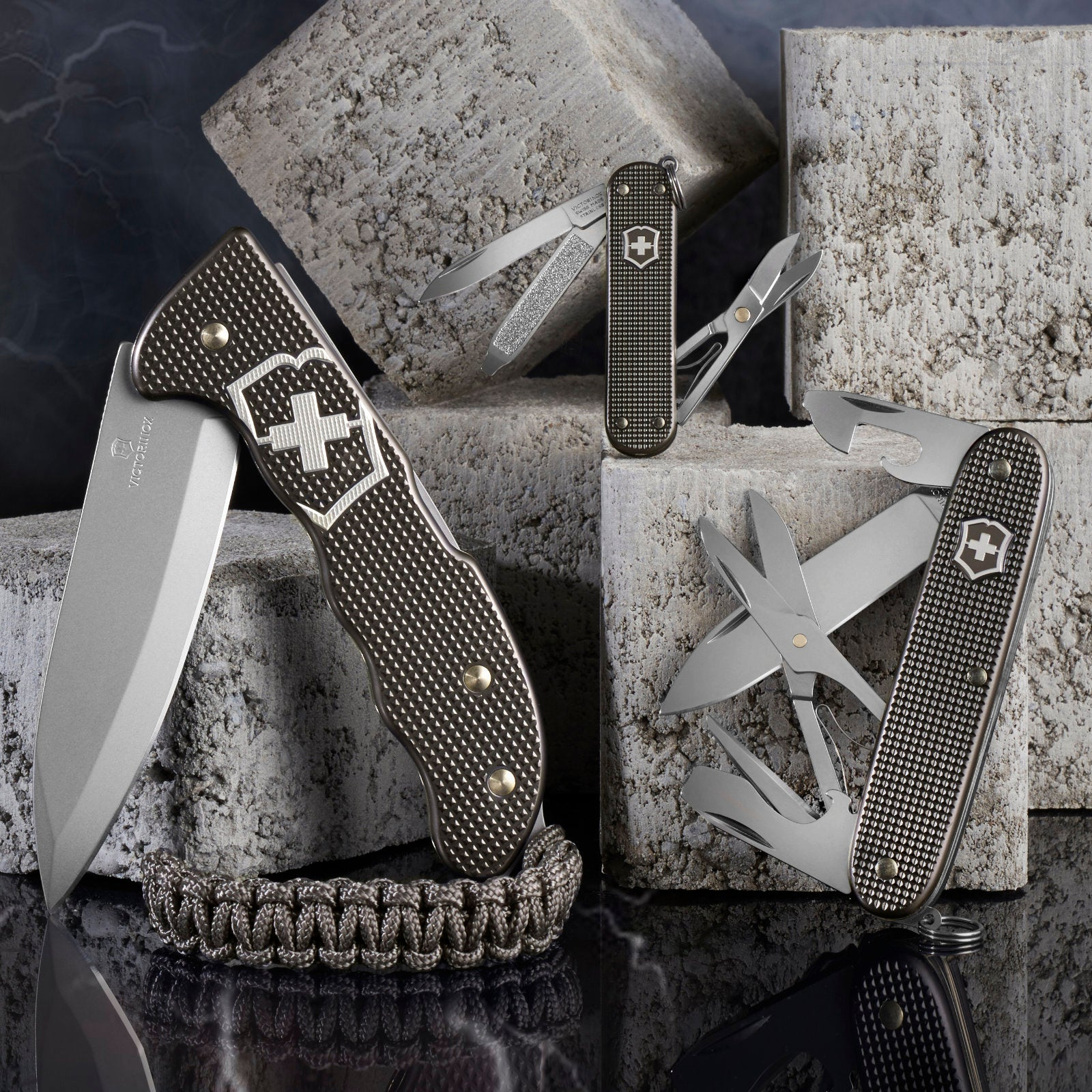 Limited Edition Alox Swiss Army Knives by Victorinox