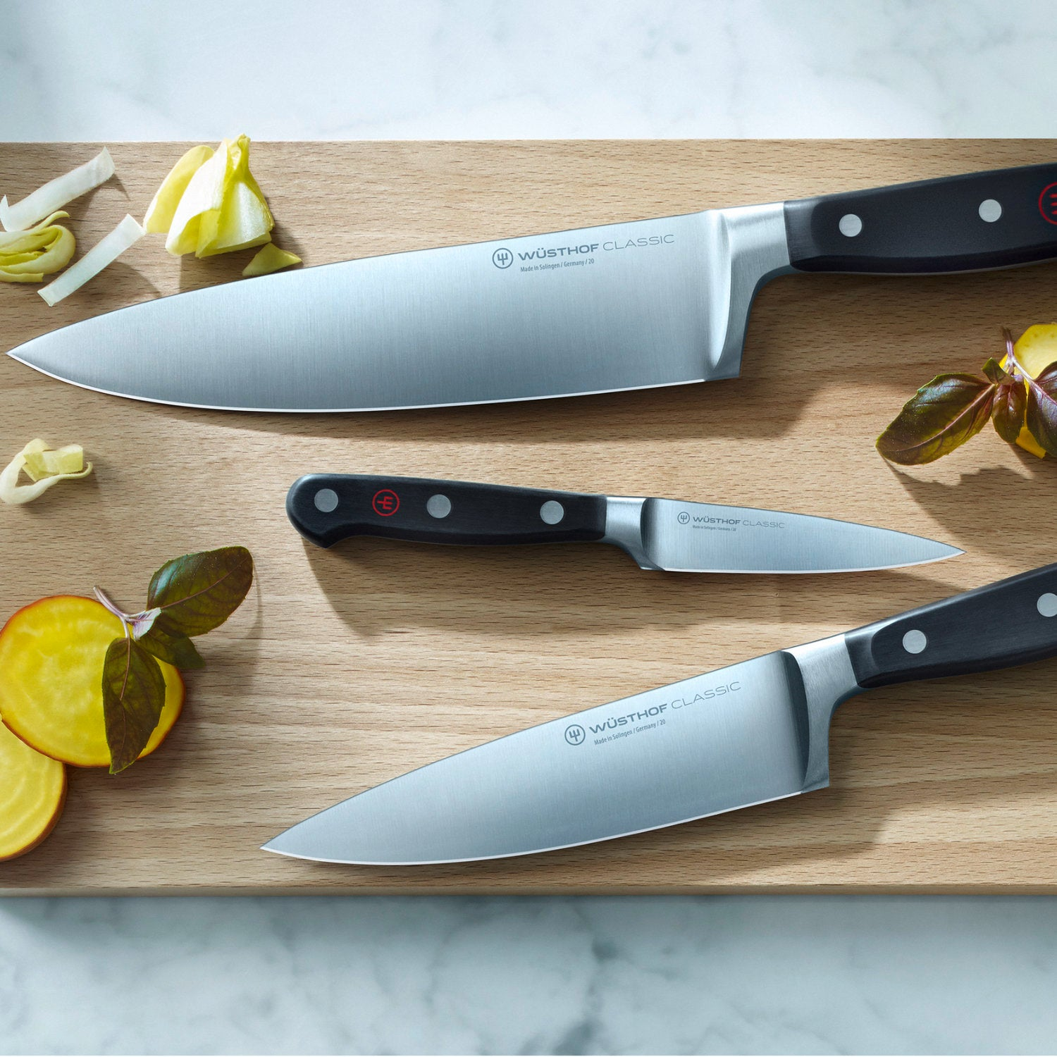 Wusthof Kitchen Knives Made in Solingen, Germany