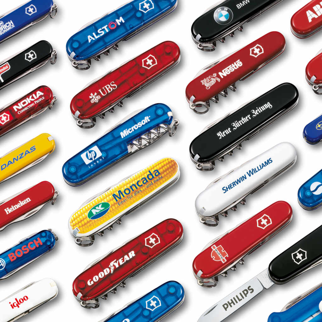 Custom Engraved and Imprinted Corporate Gifts at Swiss Knife Shop