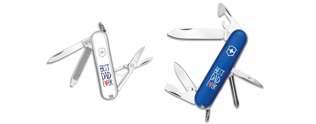 Best Dad Ever Swiss Army Knives