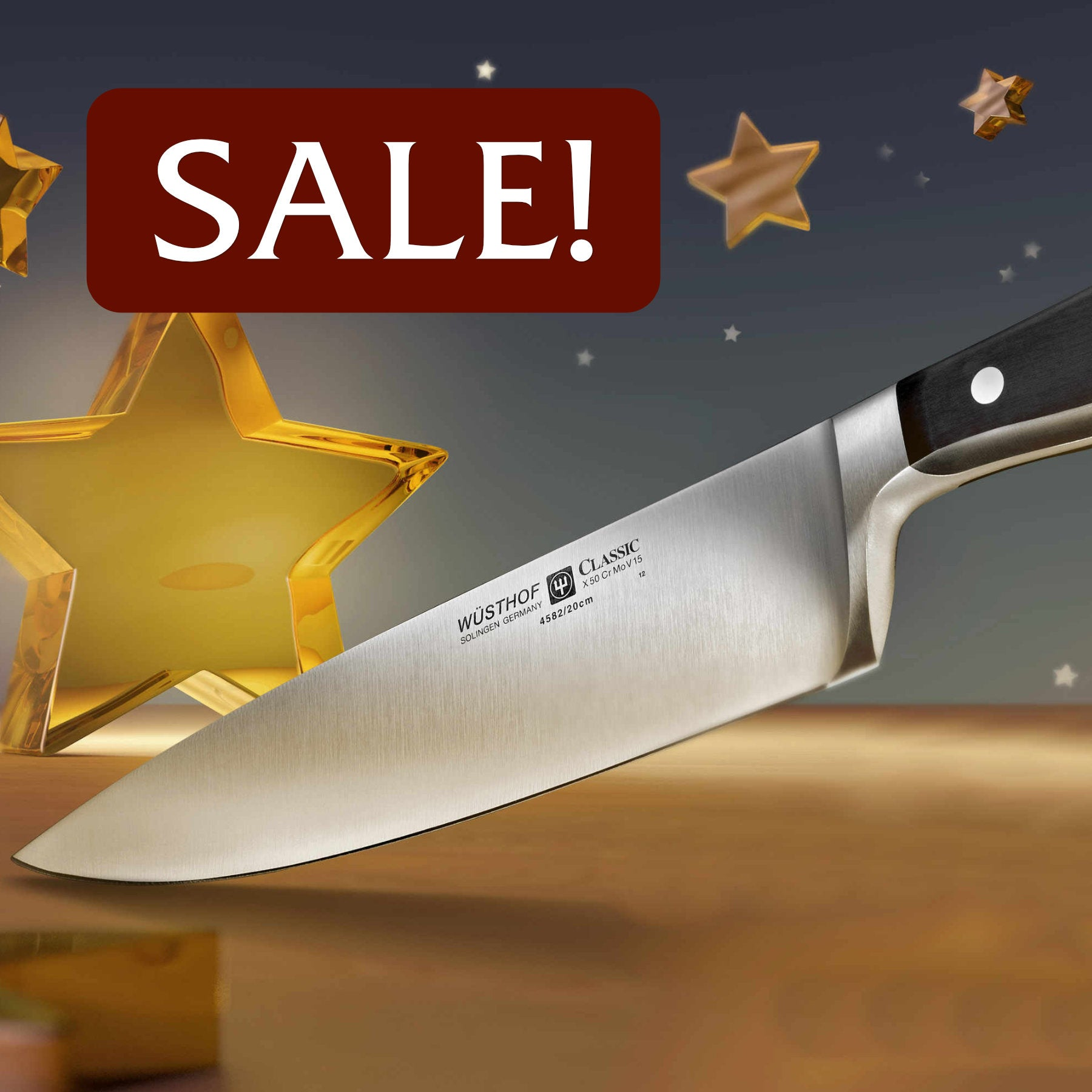 Holiday Kitchen Knife Sale at Swiss Knife Shop