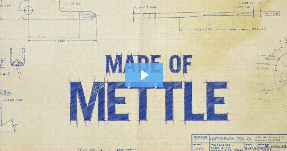 Made of Mettle - The Leatherman Tool Documentary