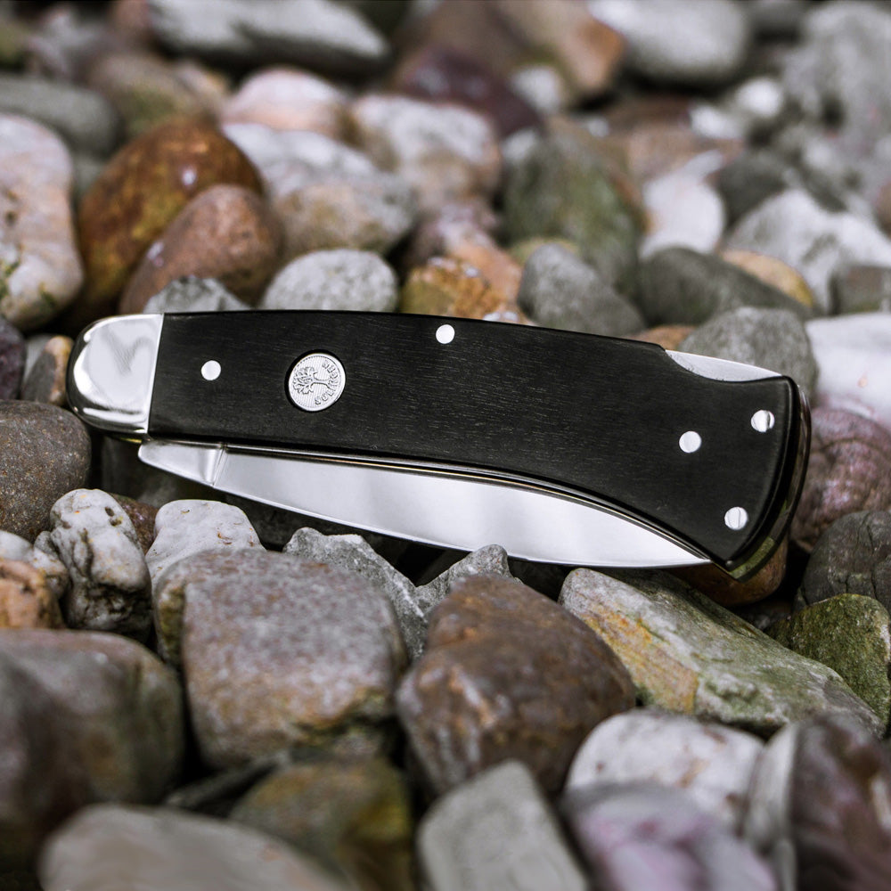 Boker Fellow Ebony Folding Knife Closed