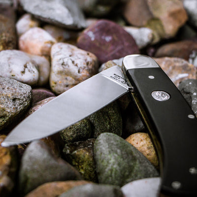 Boker Fellow Ebony Folding Knife Open