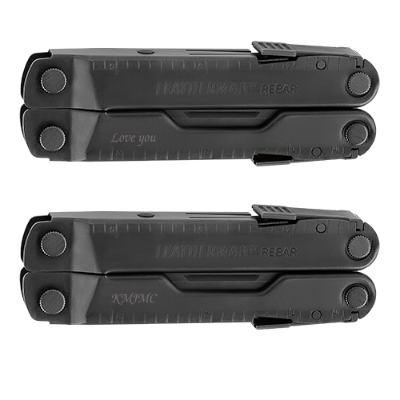 Leatherman Rebar Black Multi-Tool with Black MOLLE Sheath