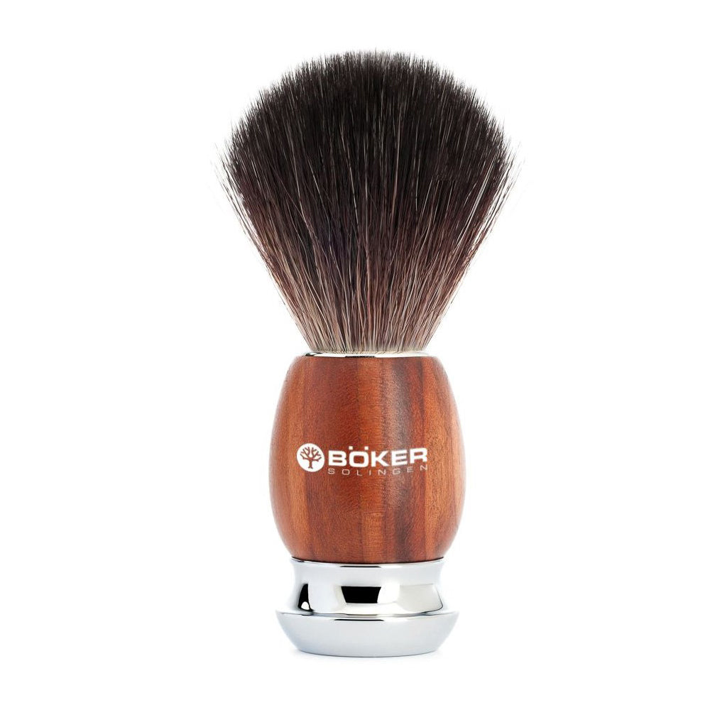 Boker Classic Plum Shaving Brush at Swiss Knife Shop