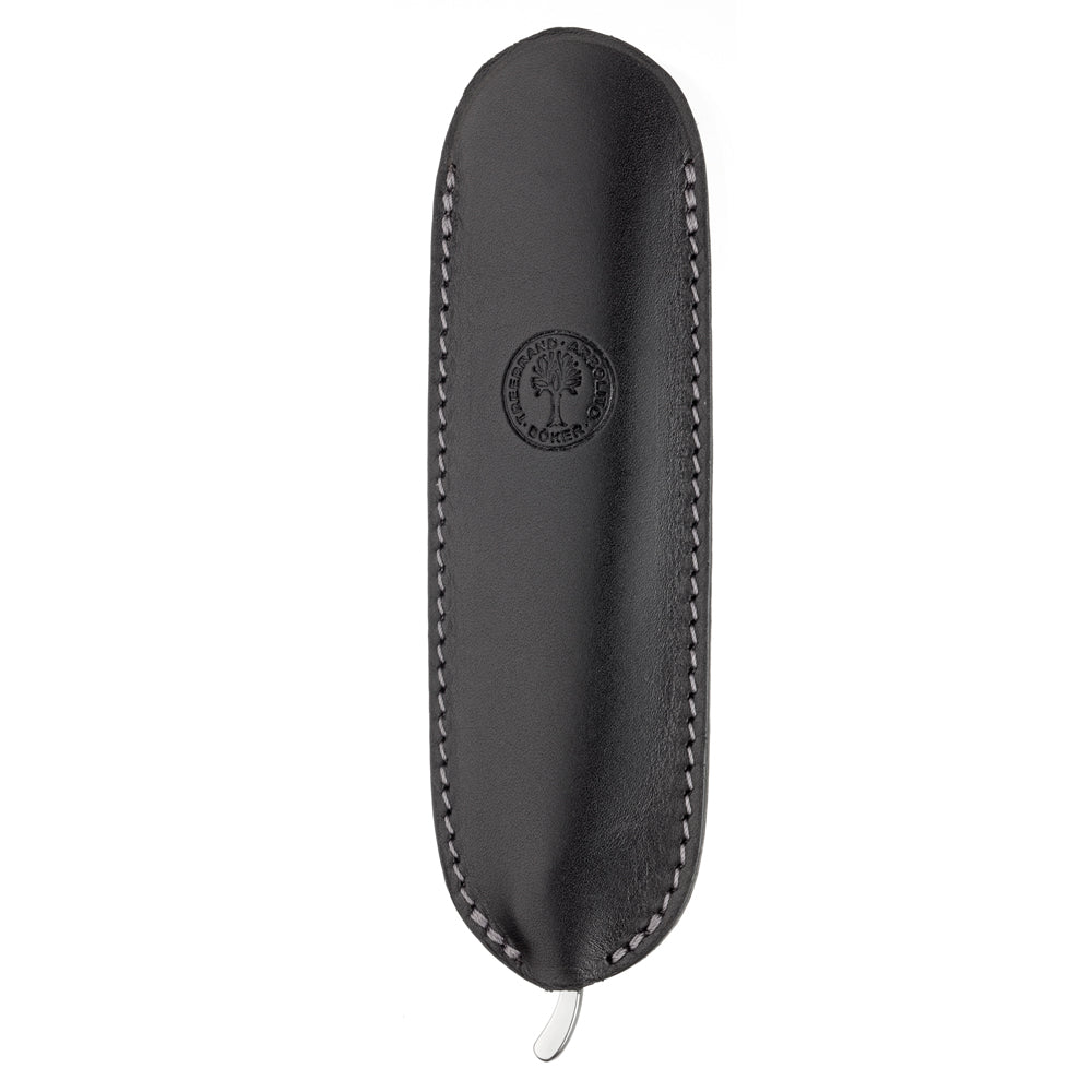 Boker Straight Razor Black Leather Sheath at Swiss Knife Shop