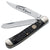 Boker Jigged Black Bone TS Trapper Folding Knife at Swiss Knife Shop