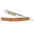 Boker Celebrated Olive Wood Straight Razor at Swiss Knife Shop