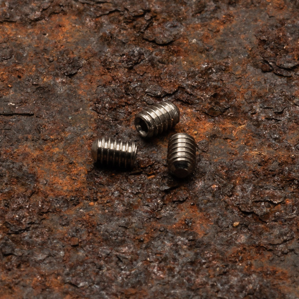 Daily Customs Headless Screws for 91.2 and 91.2+ Model Scales at Swiss Knife Shop
