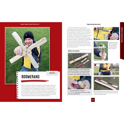Whittling in the Wild Boomerang Project Instructions
