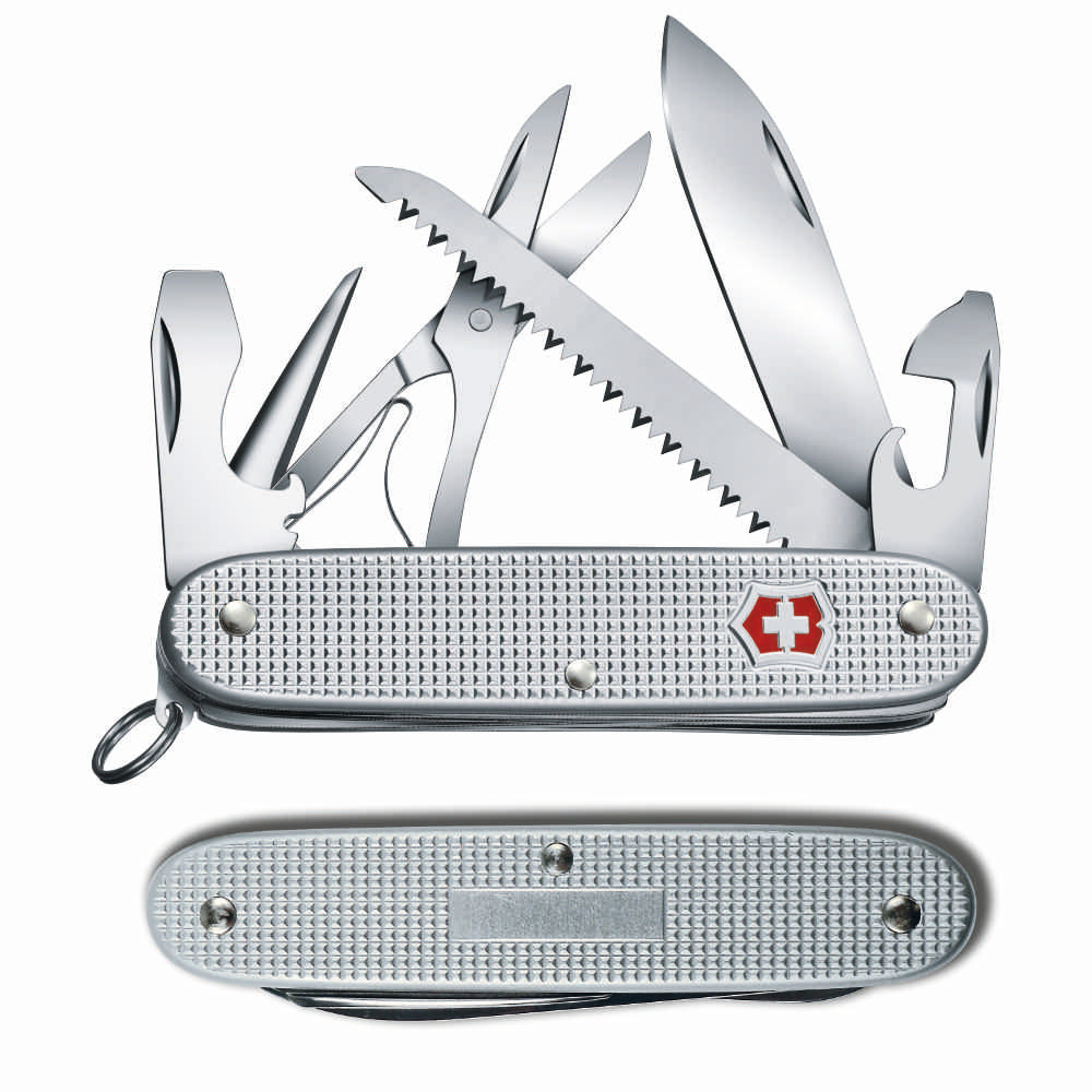 Farmer X Swiss Army Knife by Victorinox Front and Back View