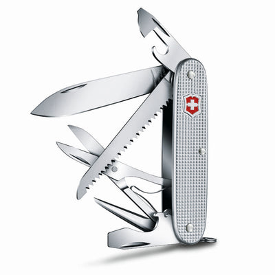 Farmer X Swiss Army Knife by Victorinox Side View with All Tools Open