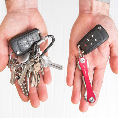 KeySmart Original Compact Key Holder Tames Your Unruly Jumble of Keys