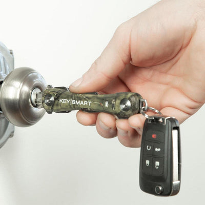KeySmart Pro Mossy Oak Camo Compact Key Holder Make it Easy to Find the Right Key