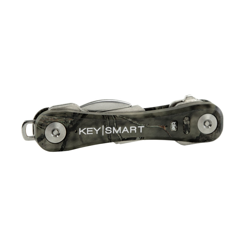 KeySmart Pro Mossy Oak Camo Compact Key Holder with Tile Smart Location