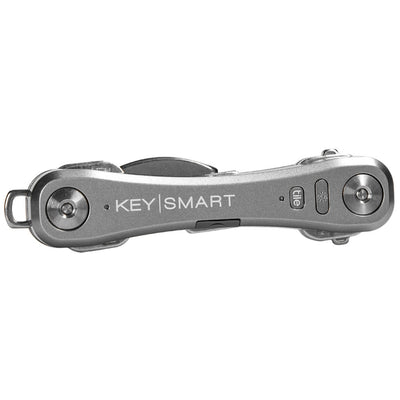 KeySmart Pro Compact Key Holder with Tile Smart Location Slate