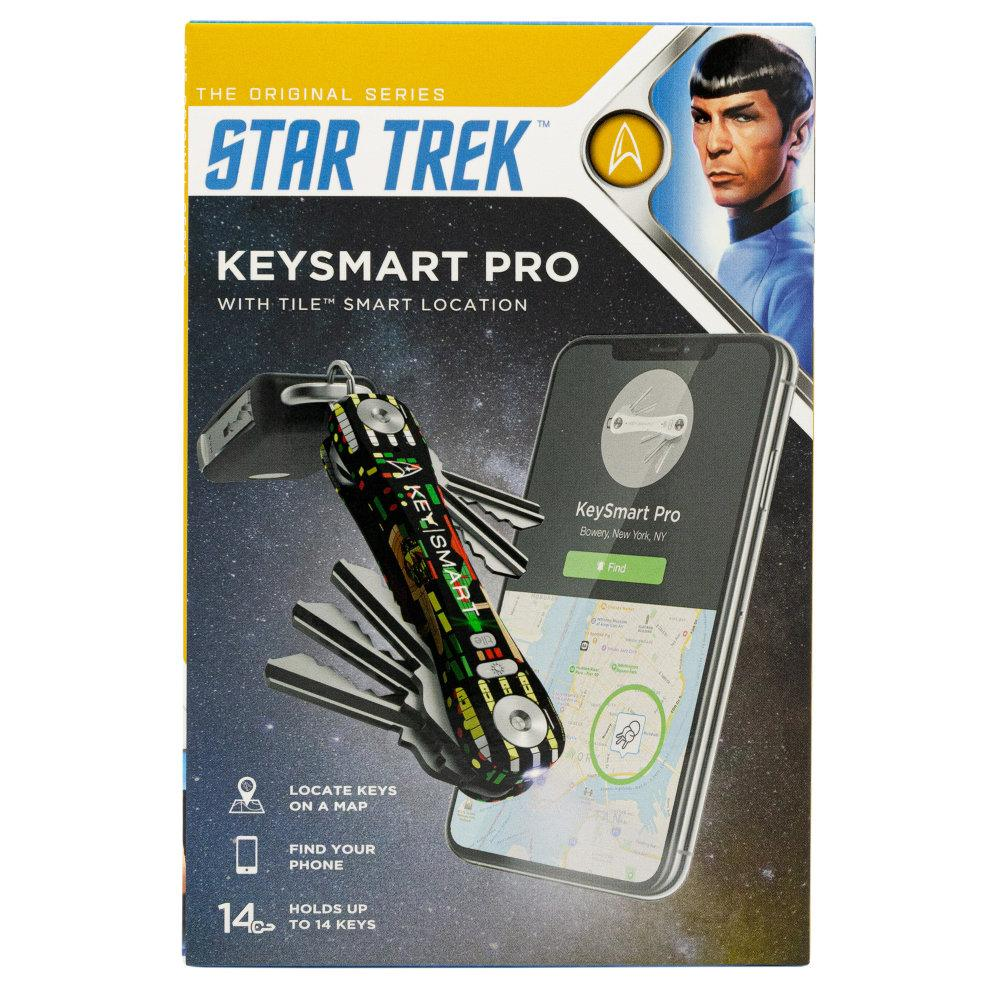KeySmart Pro Star Trek: The Original Compact Key Holder in Special Star Trek Packaging