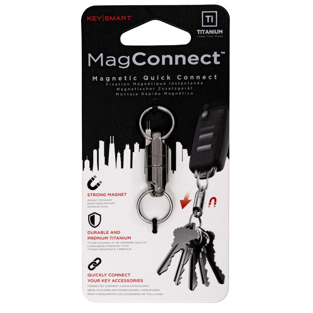 KeySmart MagConnect Titanium Magnetic Quick Disconnect Package