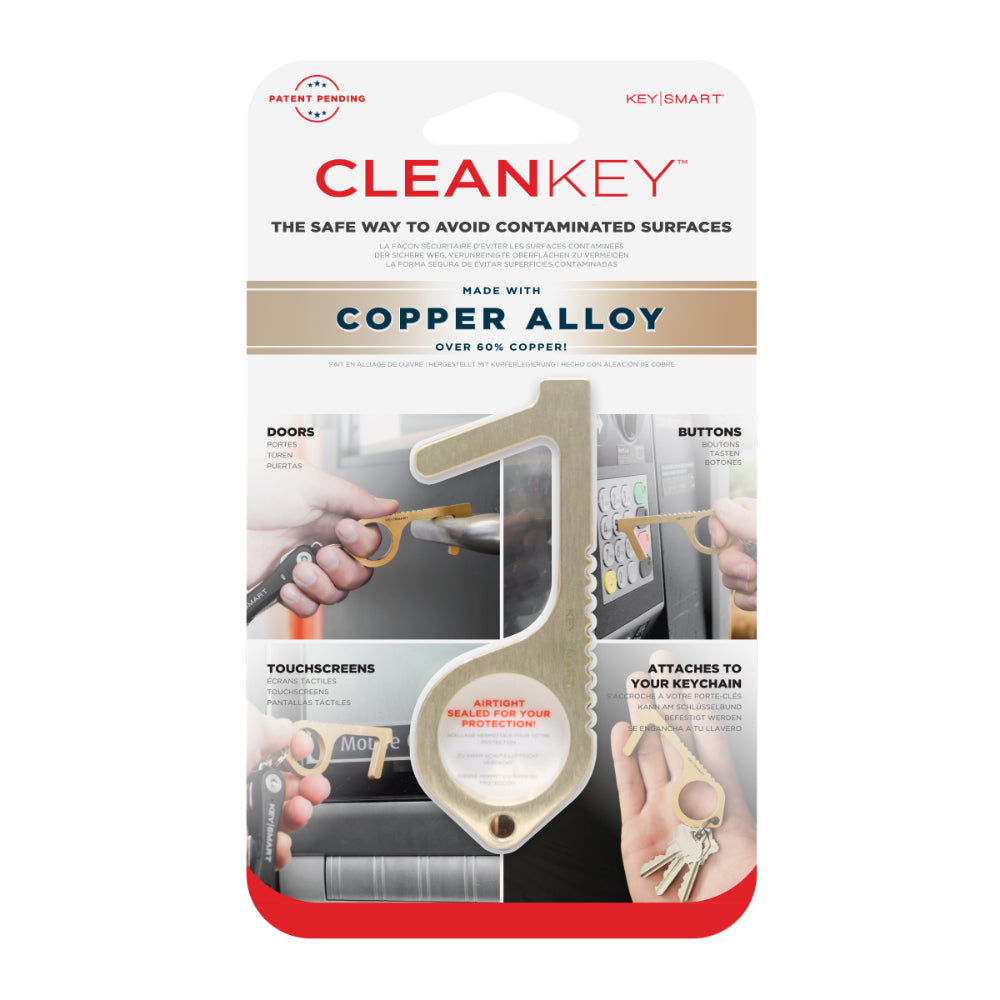 CleanKey Tool Comes Packaged Airtight and Ready to Protect You