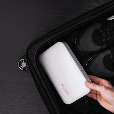 CleanTray UV Sterilization Tray in Suitcase