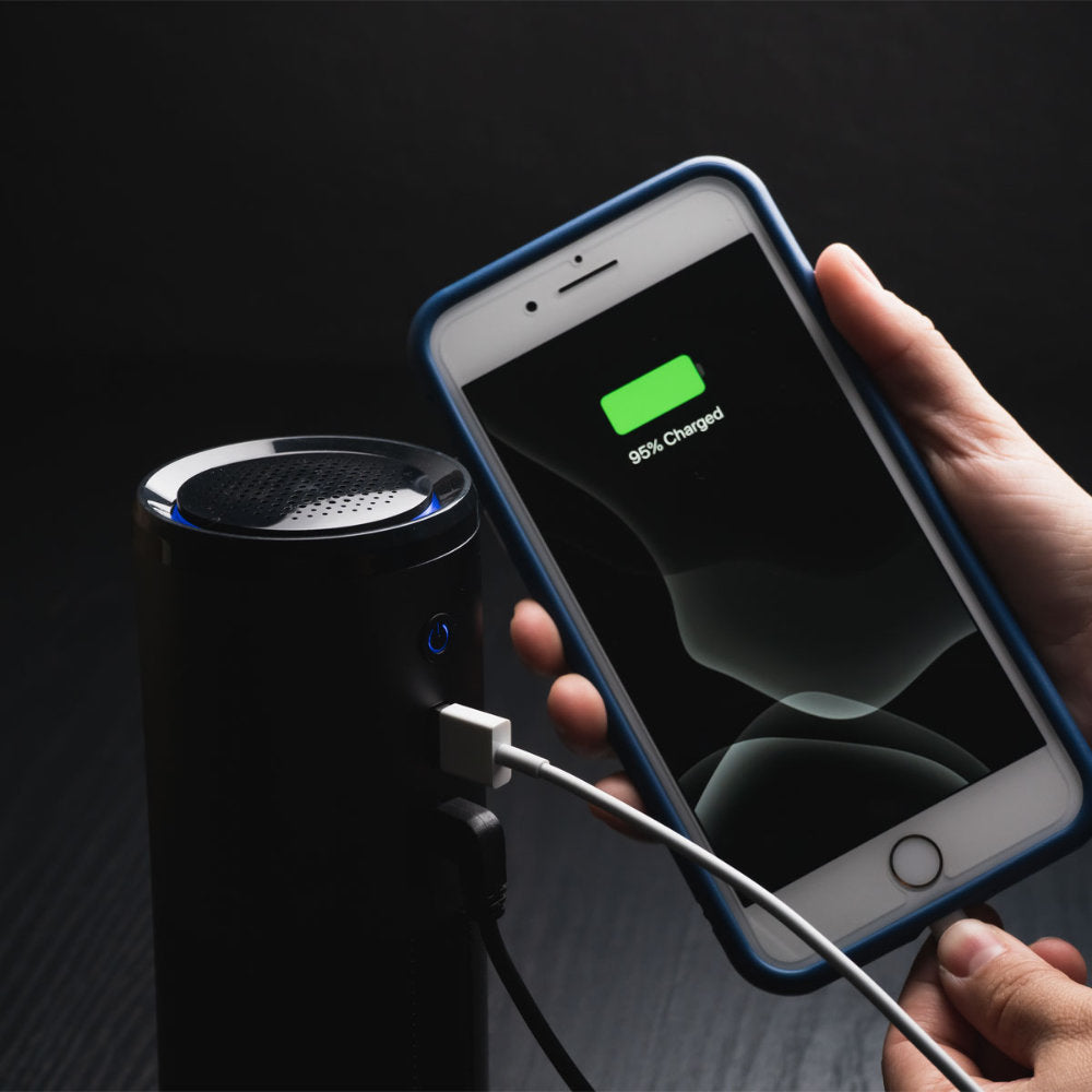 CleanAir UV Air Filter Features a USB Charger for Your Devices