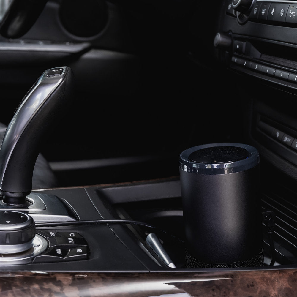 CleanAir UV Air Filter is Compact Enough to Fit in Your Cup Holder