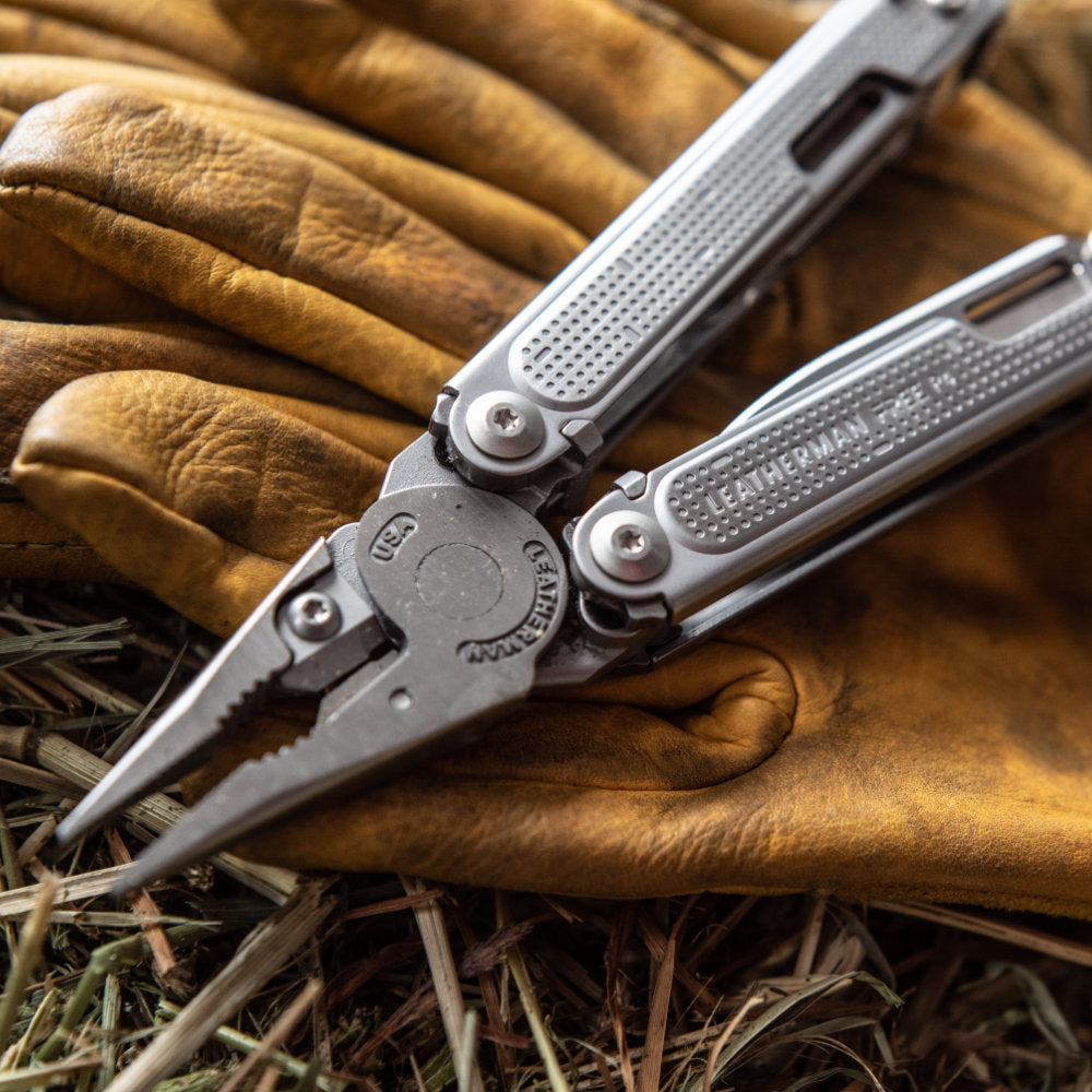 Leatherman FREE P4 Multipurpose Pliers Lifestyle Shot