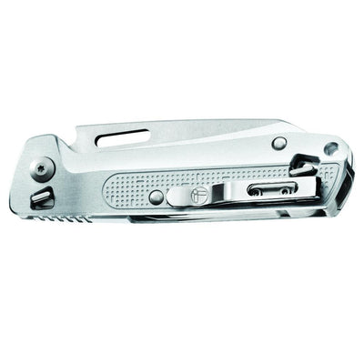 Leatherman FREE K4x Multipurpose Knife Closed with Pocket Clip