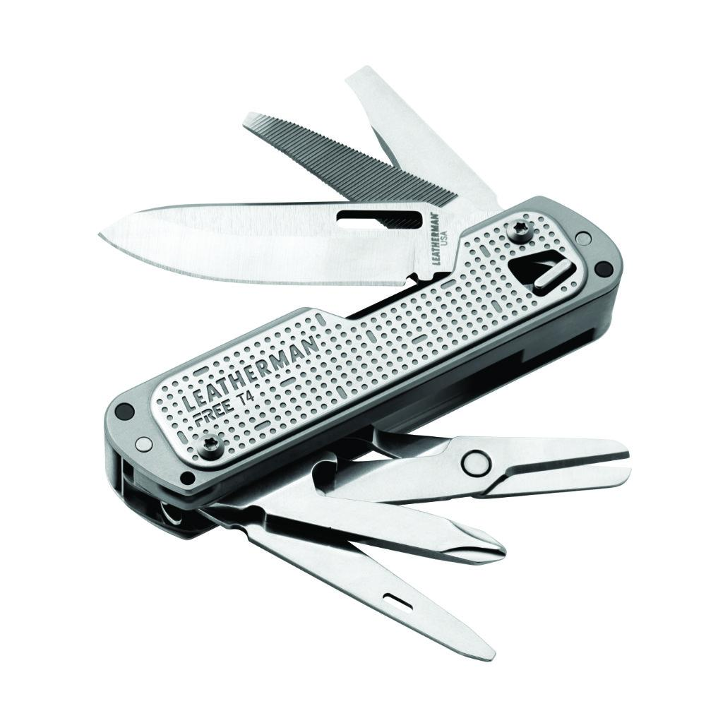 Leatherman T4 Multi-Tool with all Tools Open