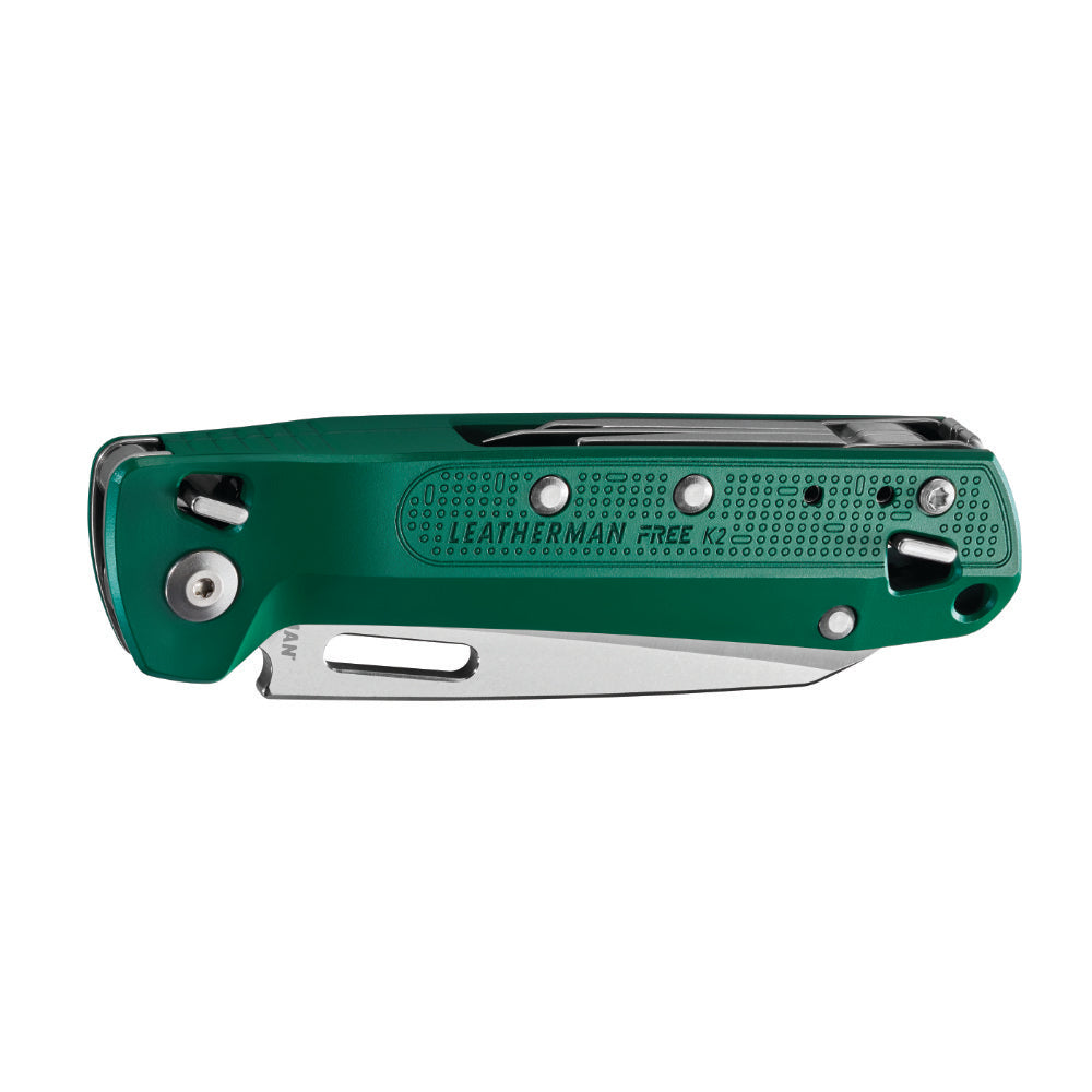 Leatherman FREE K2 Knife Multi-tool in Evergreen Closed