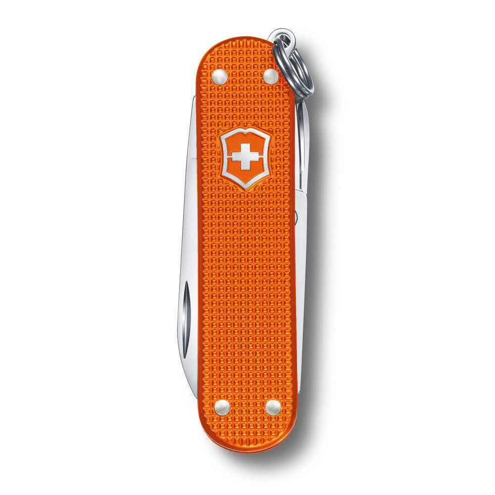 Tiger Orange Alox 2021 Limited Edition Classic SD Swiss Army Knife Closed