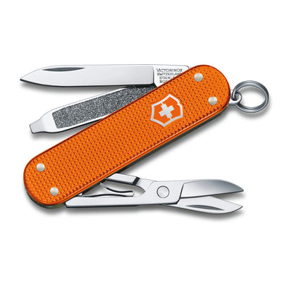 Tiger Orange Alox 2021 Limited Edition Classic SD Swiss Army Knife by Victorinox