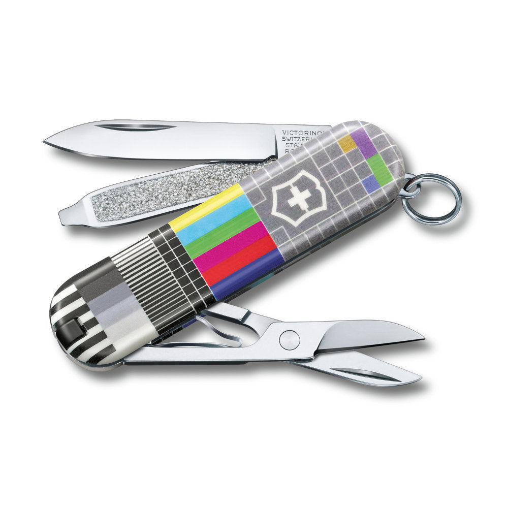 Retro TV Classic SD 2021 Limited Edition Swiss Army Knife by Victorinox at Swiss Knife Shop