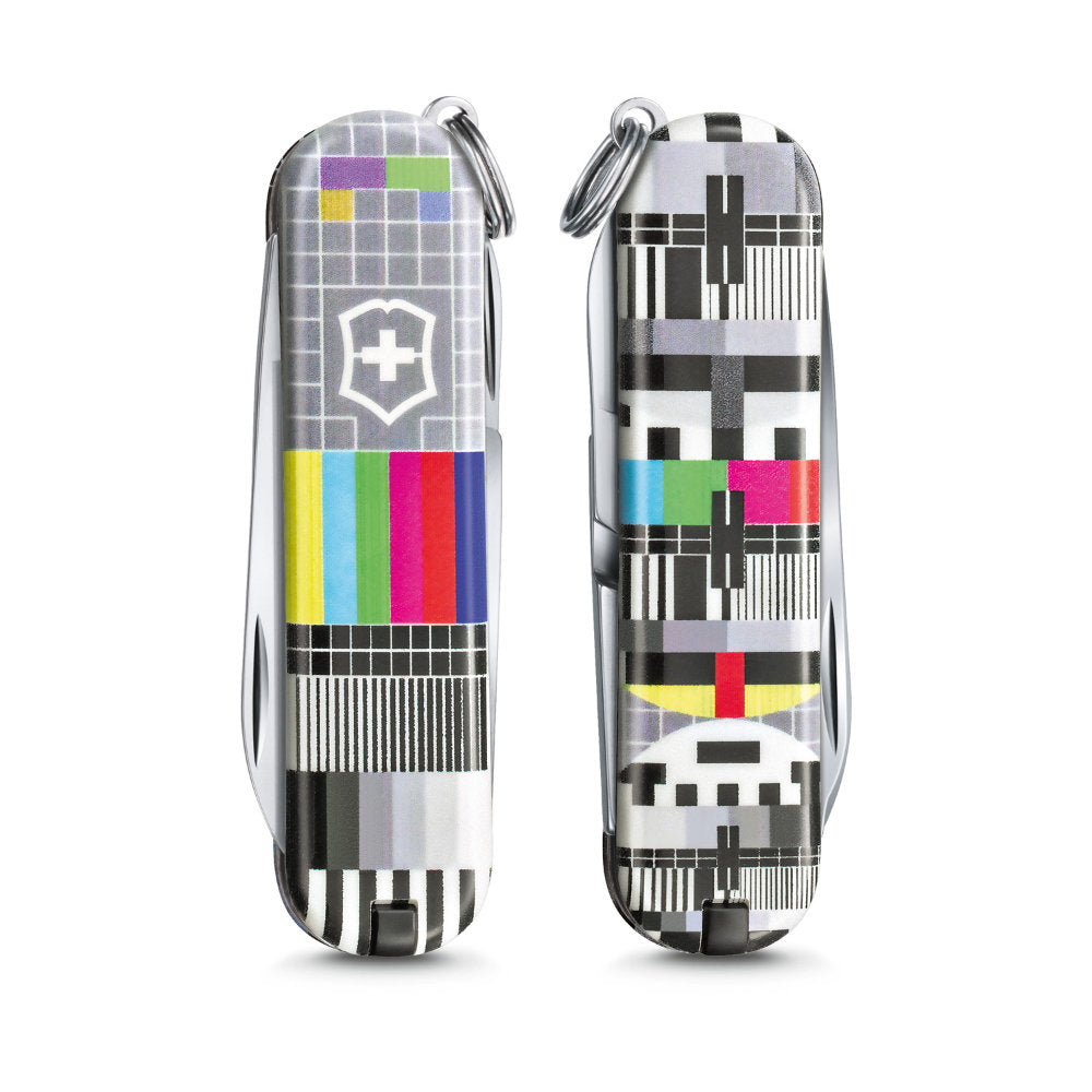 Retro TV Classic SD 2021 Limited Edition Swiss Army Knife Front and Back