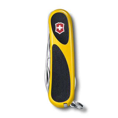 EvoGrip 18 Yellow and Black Swiss Army Knife Closed