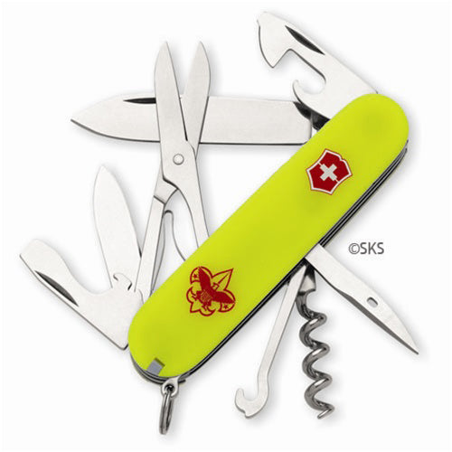 Swiss Army Boy Scout Climber Stayglow