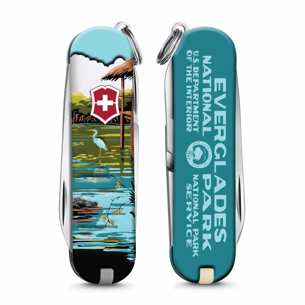 Everglades National Park Poster Art Classic SD Swiss Army Knife
