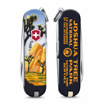 Joshua Tree National Park Poster Art Classic SD Swiss Army Knife