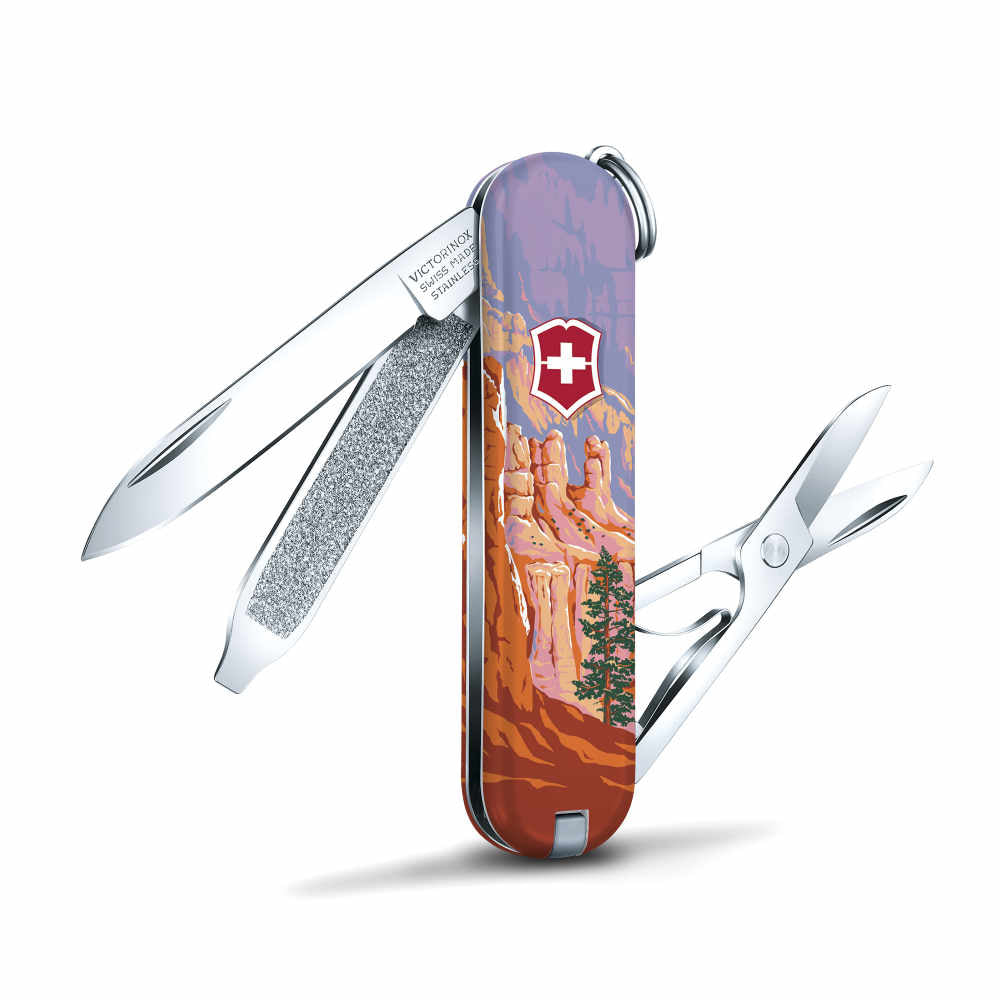 Bryce National Park Poster Art Classic SD Swiss Army Knife