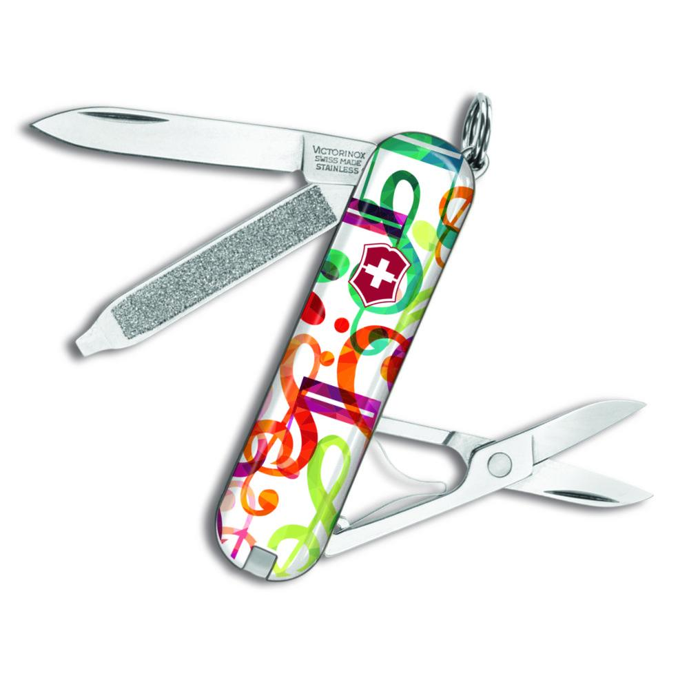 Musical Notes Classic SD Exclusive Swiss Army Knife at Swiss Knife Shop