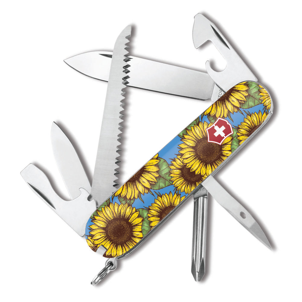 Sunflowers Hiker Swiss Army Knife by Victorinox