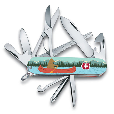 Beary Good Catch Fisherman Exclusive Swiss Army Knife at Swiss Knife Shop
