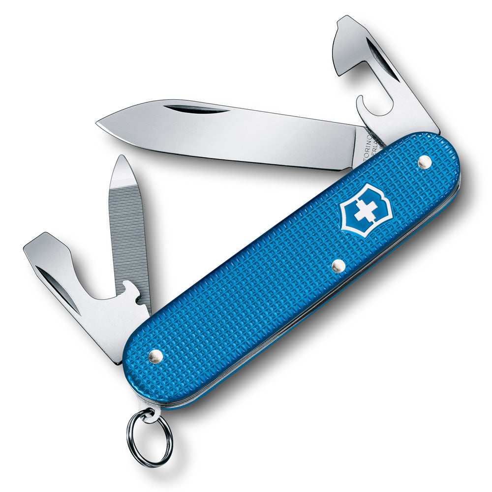 Aqua Blue Alox Cadet 2020 Limited Edition Swiss Army Knife from Swiss Knife Shop