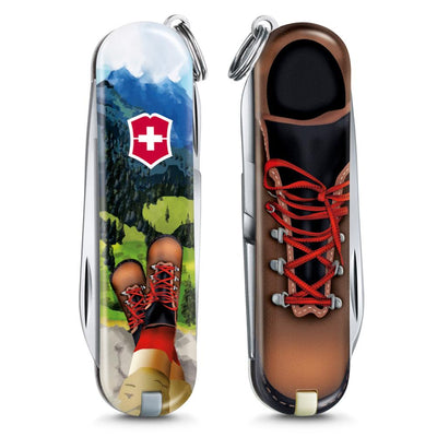 I Love Hiking Classic SD 2020 Limited Edition Swiss Army Knife Front and Back