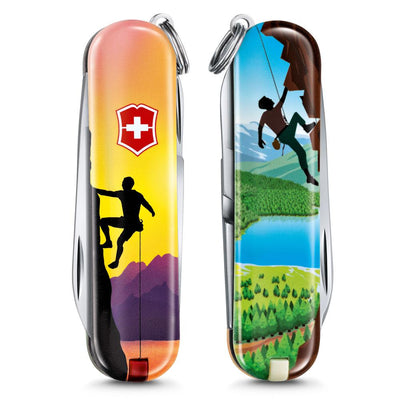 Climb High Classic SD 2020 Limited Edition Swiss Army Knife Front and Back
