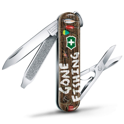 Gone Fishing Classic SD 2020 Limited Edition Swiss Army Knife at Swiss Knife Shop