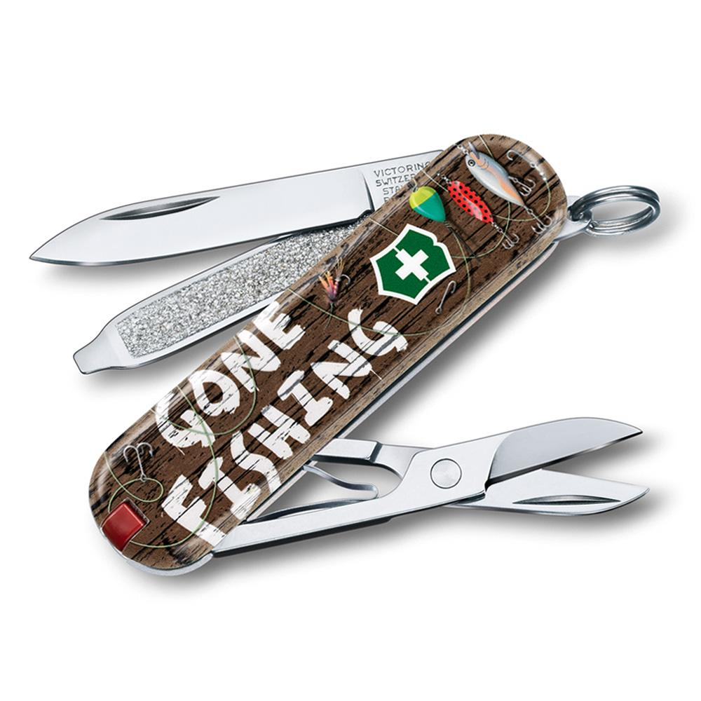 Gone Fishing Classic SD 2020 Limited Edition Swiss Army Knife